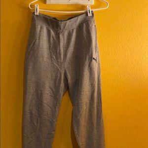 BUNDLE Kids puma XL sweatpants and puma L shirt